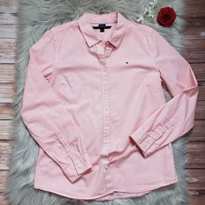 Tommy Hilfiger Classic Fit Button Up Striped